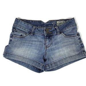 Mossimo Jean Shorts Blue Juniors Size 3